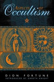 Cover of: Aspects of occultism | Dion Fortune