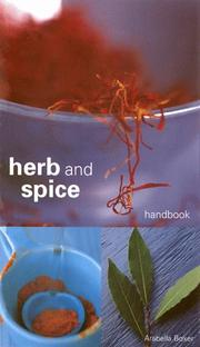 Cover of: Herb and Spice Handbook | Arabella Melville