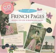 Cover of: Instant memories: French pages by Anna Corba
