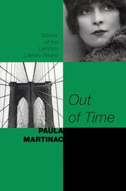 Cover of: Out of time | Paula Martinac