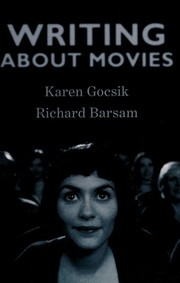 Cover of: Writing about Movies | Karen M. Gocsik
