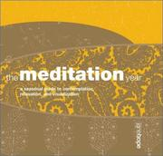 Cover of: The Meditation Year | Jane Hope