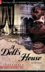 Cover of: A Doll's House | Henrik Ibsen