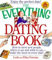 Cover of: The Everything Dating Book | Elina Furman