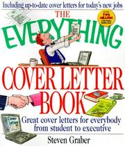 Cover of: The Everything Cover Letter Book (Everything) | Steven Graber