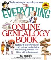 Cover of: The everything online genealogy book | Pat Richley