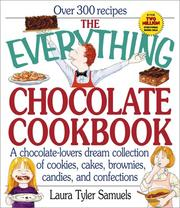 Cover of: The everything chocolate cookbook | Laura Tyler Samuels
