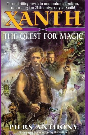The quest for magic by Piers Anthony