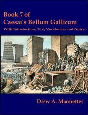 Cover of: De bello Gallico by Julius Caesar