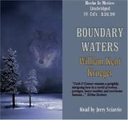 Cover of: Boundary Water | William Kent Krueger
