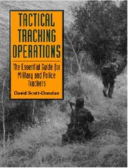 Cover of: Tactical Tracking Operations by David Scott-Donelan