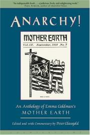 Cover of: Anarchy! | Peter Glassgold