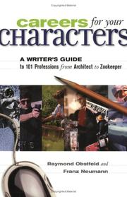 Careers for your characters