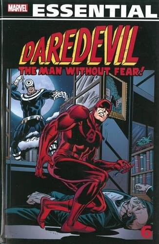 Essential Daredevil Volume 6 (Marvel Essential Daredevil) by Marv Wolfman, Bill Mantlo, Jim Shooter, Chris Claremont
