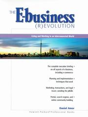 Cover of: E-business (R)evolution, The | Daniel Amor