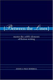 Cover of: Between the lines by Jessica Page Morrell