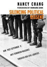 Cover of: Silencing Political Dissent by Nancy Chang