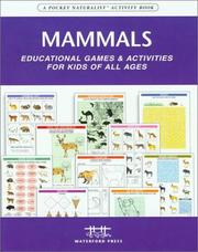 Cover of: Mammals Nature Activity Book | James Kavanagh