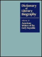 Cover of: American writers of the early republic | Emory Elliott