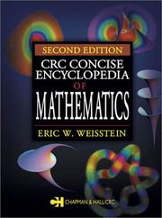 Cover of: CRC Concise Encyclopedia of Mathematics | Eric W. Weisstein