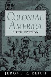 Cover of: Colonial America | Jerome R. Reich