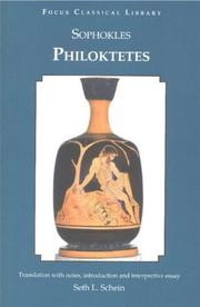 Cover of: Philoctetes | Sophocles