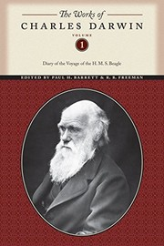 "Cover of: Charles Darwin's diary of the voyage of H.M.S. ""Beagle"" 