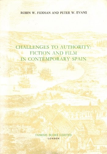 Challenges to authority by Robin W. Fiddian