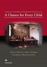 Cover of: Achieving universal primary education by 2015 | Barbara Bruns