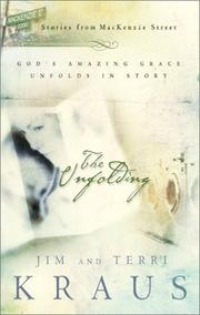 Cover of: The unfolding | Jim Kraus