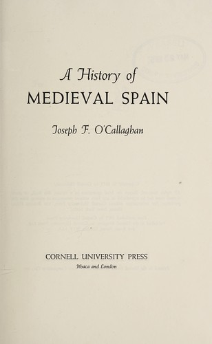 A History of Medieval Spain (Cornell Paperbacks)