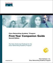 Cover of: Cisco Networking Academy Program | Inc. Cisco Systems, Cisco Networking Academy Program, Cisco Systems