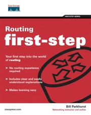 Cover of: Routing first-step | William R. Parkhurst