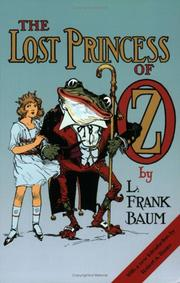 Cover of: The Lost Princess of Oz | L. Frank Baum