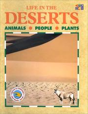 Cover of: Life in the Deserts (Life in the...) | Lucy Baker