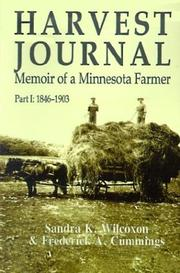 Cover of: Harvest journal | Frederick A. Cummings