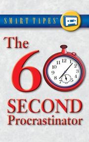 Cover of: The 60 Second Procrastinator (Smart Tapes) | Jeff Davidson