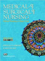 Cover of: Medical-Surgical Nursing | Karen Burke