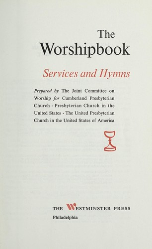 The Worshipbook by Joint Committee on Worship