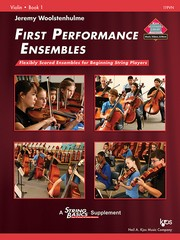 Cover of: First Performance Ensembles | Jeremy Woolstenhulme