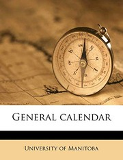 Cover of: General calenda, Volume 1912-13 |