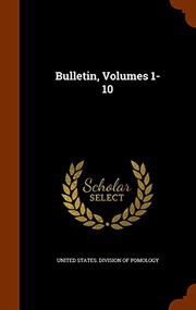 Cover of: Bulletin, Volumes 1-10 |