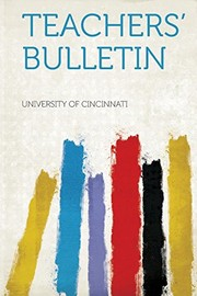 Cover of: Teachers' Bulletin |