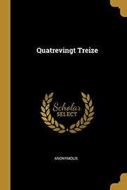 Cover of: Quatrevingt Treize (French Edition) | Anonymous