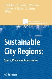 Cover of: Sustainable City Regions:: Space, Place and Governance (cSUR-UT Series: Library for Sustainable Urban Regeneration) |