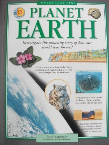 Investigations: Planet Earth by John Farndon