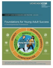 Cover of: Foundations for Young Adult Success: A Developmental Framework | Jenny Nagaoka, Camille A. Farrington, Stacy B. Ehrlich, Ryan D. Heath
