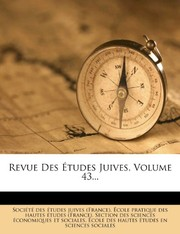 Cover of: Revue Des Études Juives, Volume 43... (French Edition) |