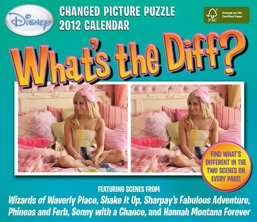 What's the Diff?: 2012 Day-to-Day Calendar by Disney