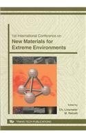 1st International Conference on New Materials for Extreme Environment (Advanced Materials Research) by